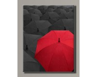 "Картина на холсте ""Red umbrella"" для интерьера"