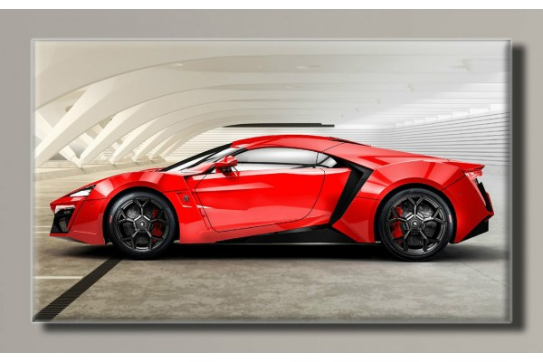 "Картина на холсте ""Lykan HyperSport"" для интерьера"